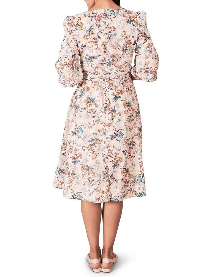 Heritage Print Wrap Dress image 4