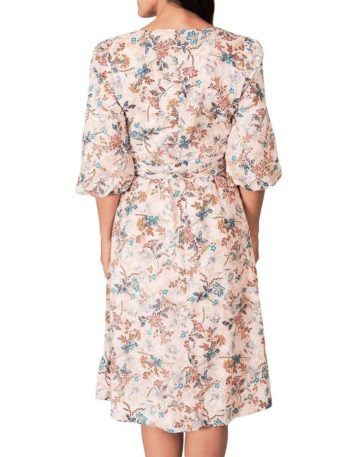 Heritage Print Wrap Dress image 5