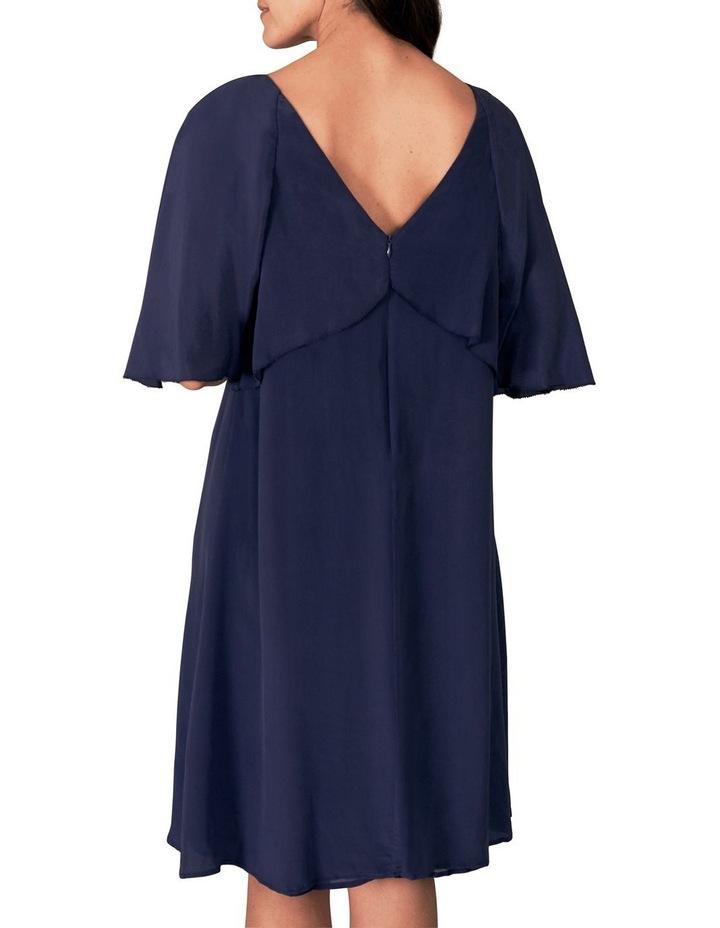 Waterfall Silk Dress image 5