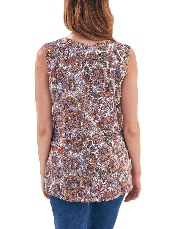 Paisley Pleat Front Top image 3