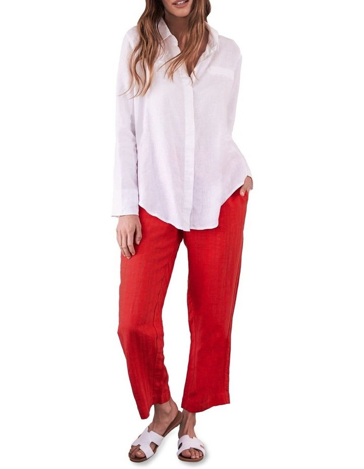 Tapered Linen Pant image 1