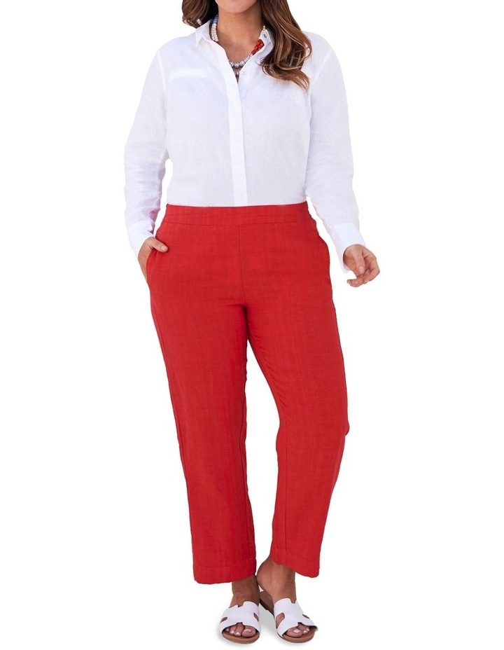 Tapered Linen Pant image 3