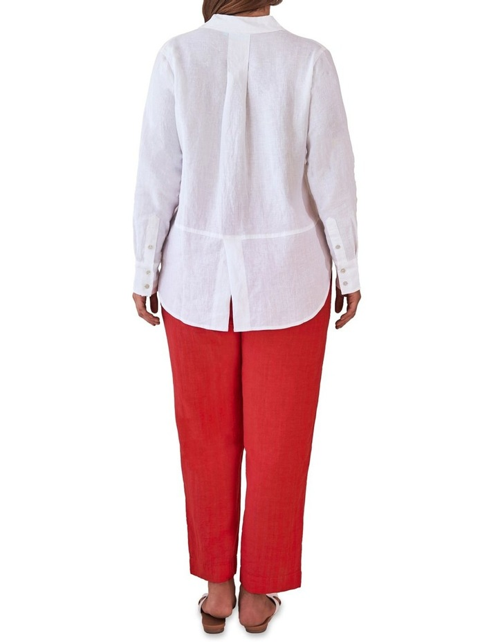 Tapered Linen Pant image 5