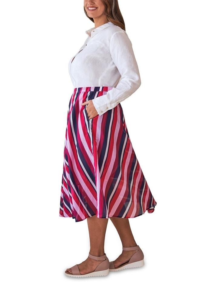 Silk Blend Circular Skirt image 2