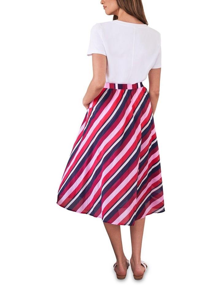 Silk Blend Circular Skirt image 3