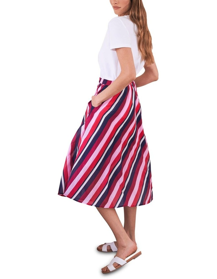 Silk Blend Circular Skirt image 4