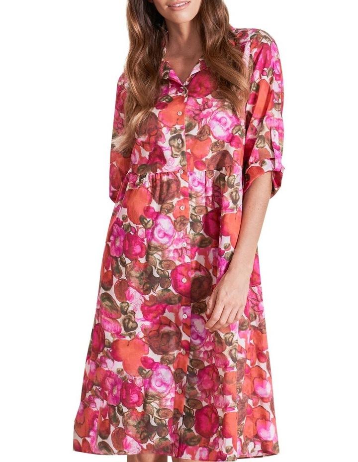 Organic Cotton Shirt Dress image 1