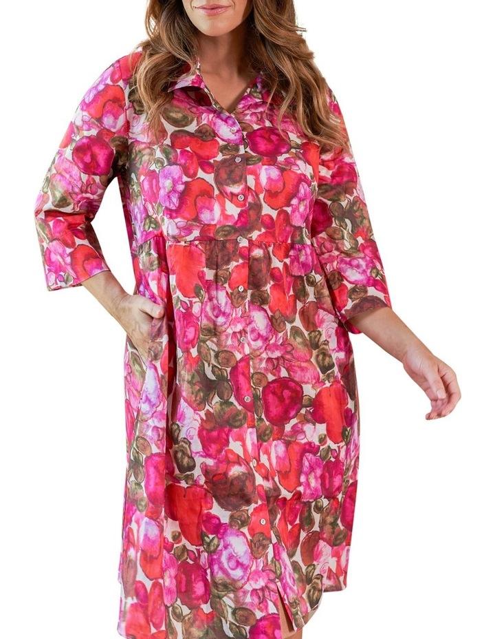 Organic Cotton Shirt Dress image 4