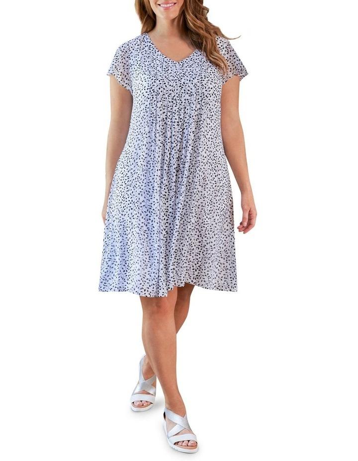 Flutter Sleeve Print Dress image 1