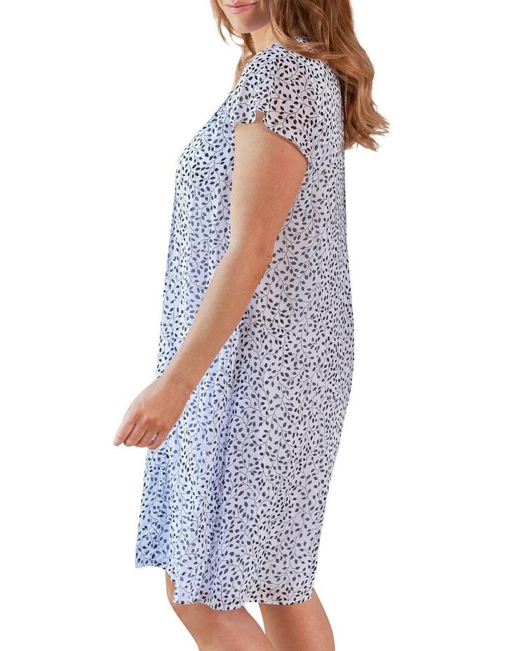 Flutter Sleeve Print Dress image 2
