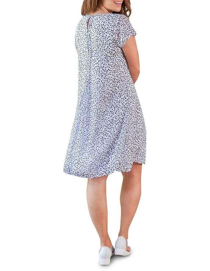Flutter Sleeve Print Dress image 3