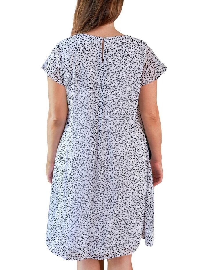 Flutter Sleeve Print Dress image 4