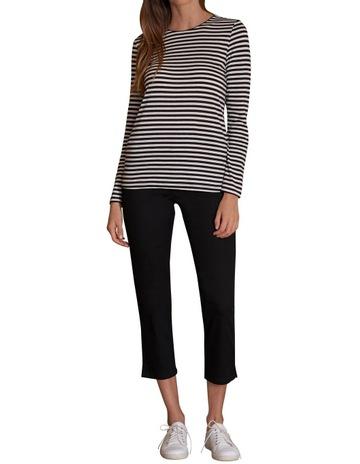Black Mini Stripe colour