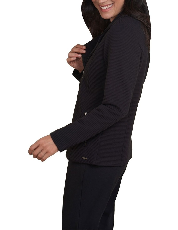 Quilted Ponte Jacket image 3