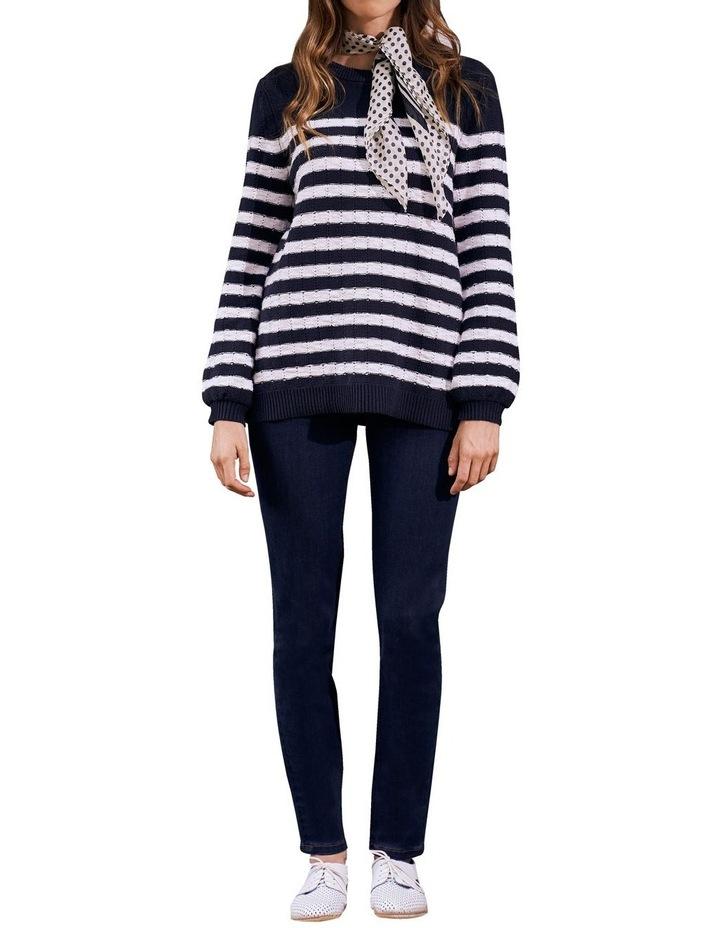 Stripe Cotton Jumper image 1