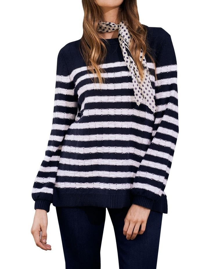 Stripe Cotton Jumper image 2