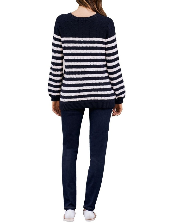 Stripe Cotton Jumper image 3