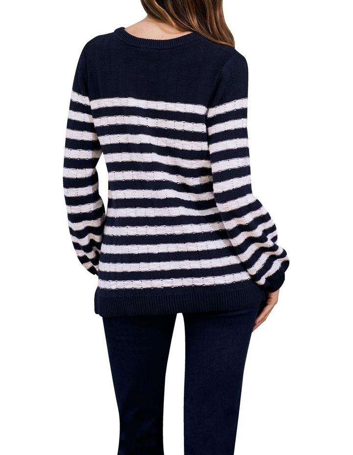 Stripe Cotton Jumper image 4