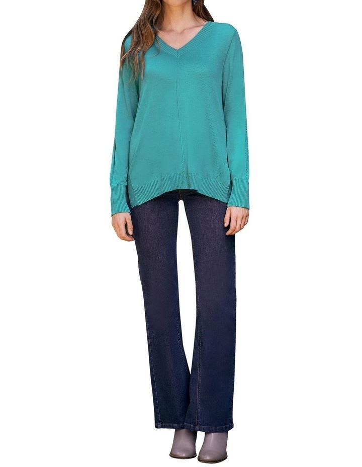 Jade Merino Wool Jumper image 1