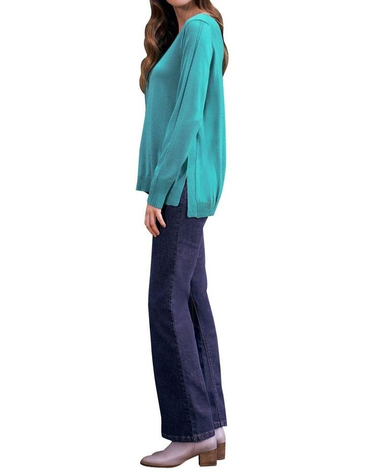 Jade Merino Wool Jumper image 3