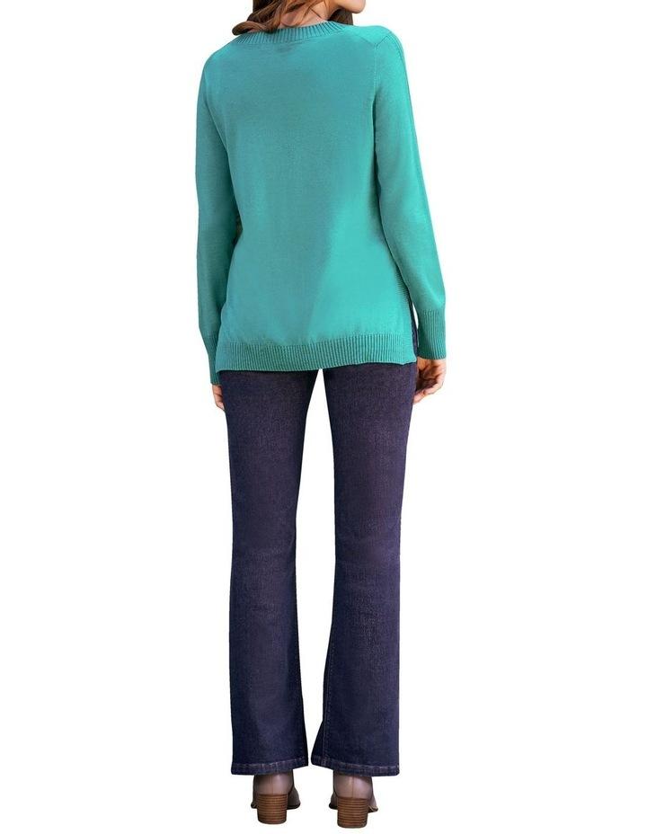 Jade Merino Wool Jumper image 5