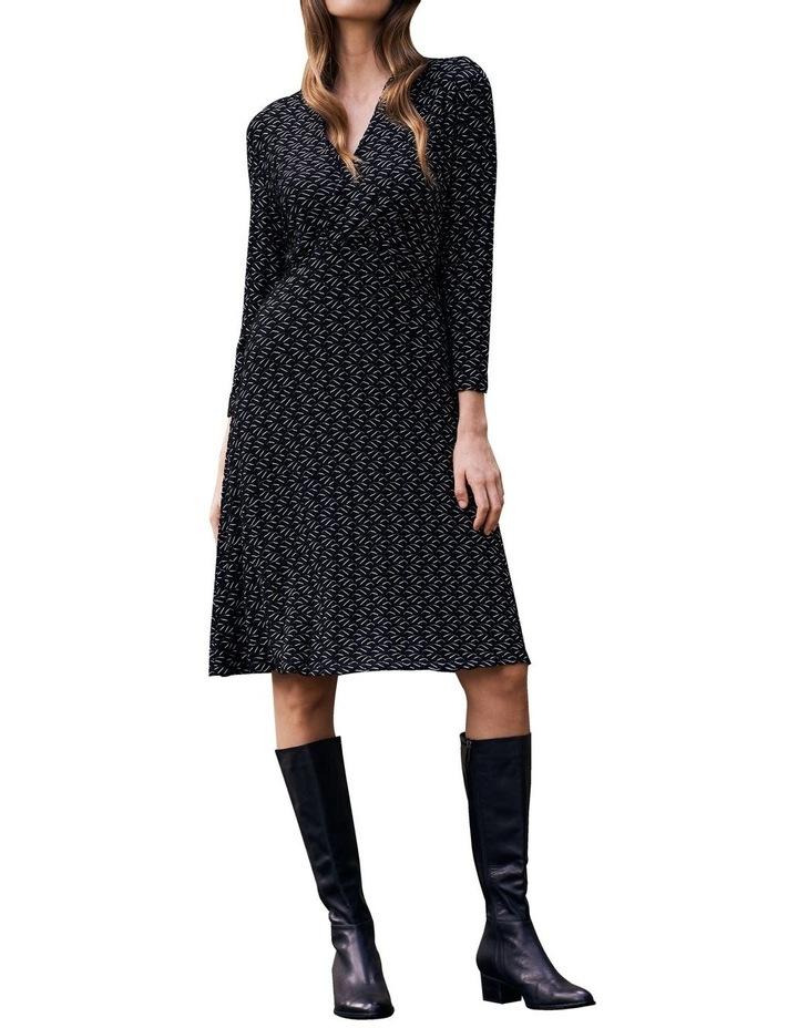Textured Jersey Dress image 2