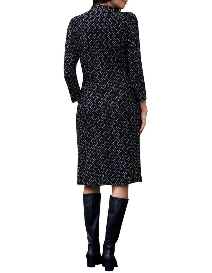Textured Jersey Dress image 4