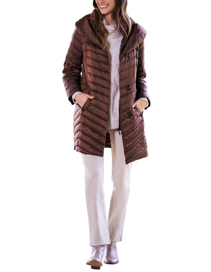 Shawl Collar Puffer Coat image 2