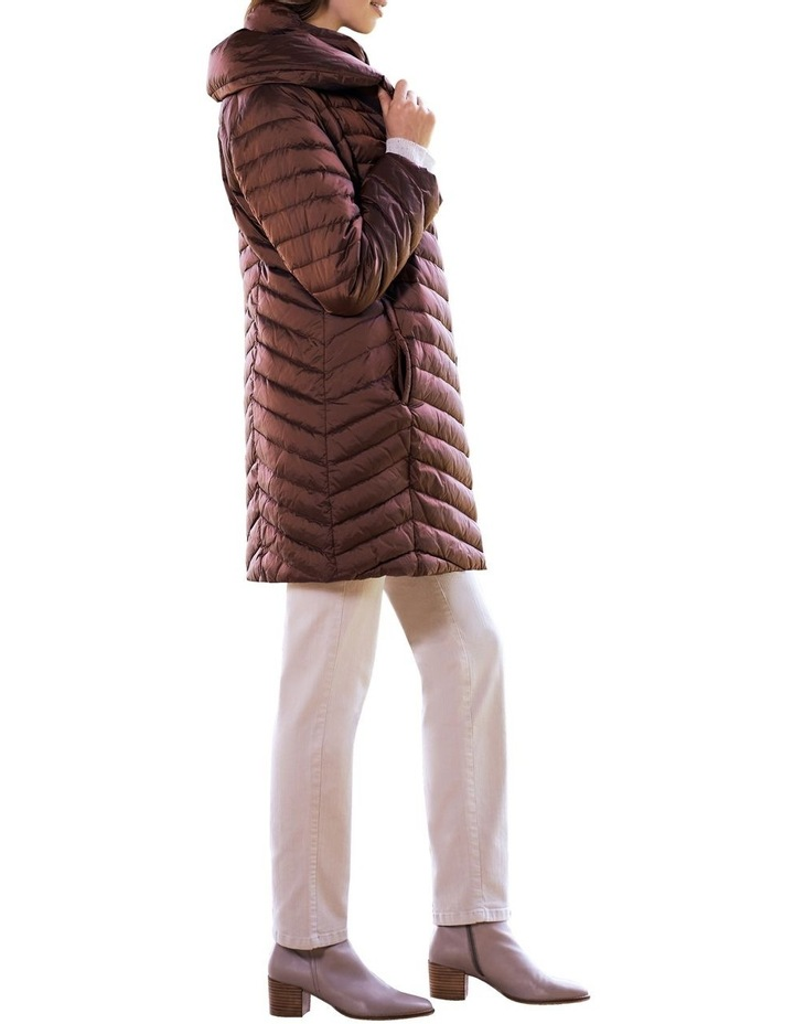 Shawl Collar Puffer Coat image 3