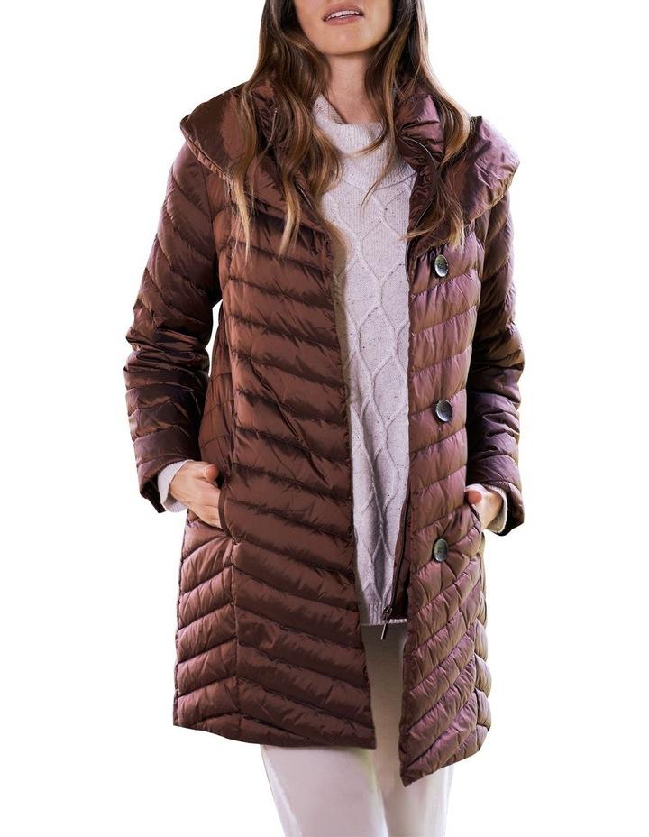 Shawl Collar Puffer Coat image 4