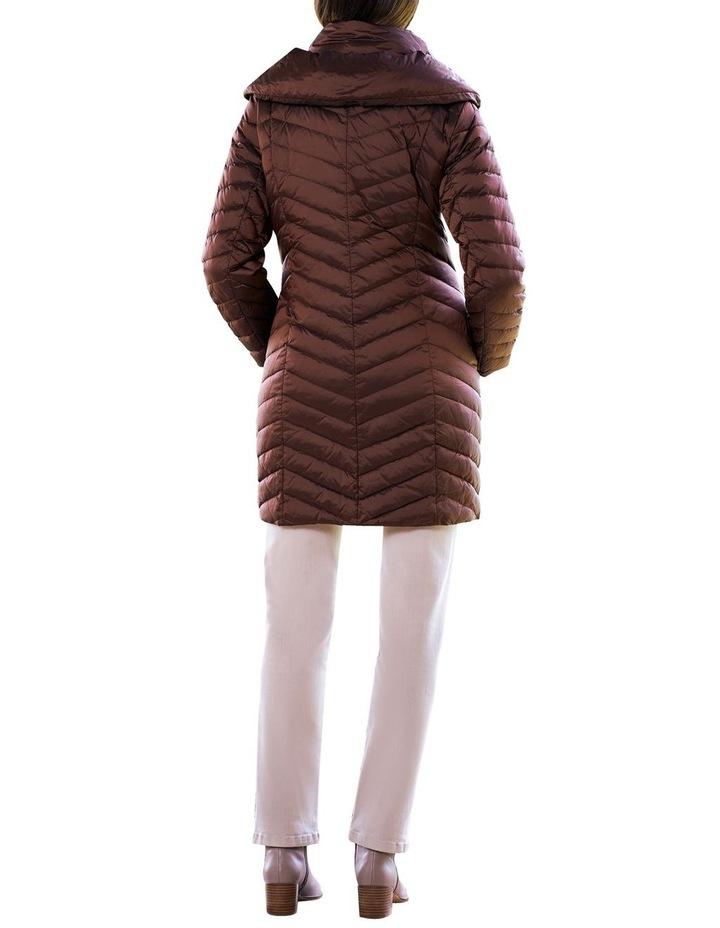 Shawl Collar Puffer Coat image 5