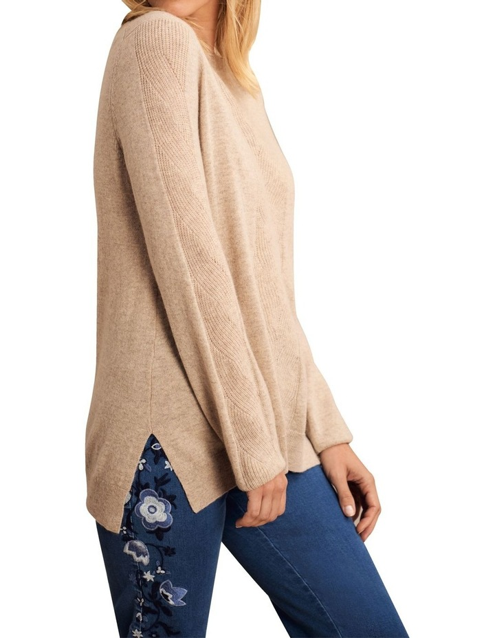 Wool Cashmere Cable Knit image 2