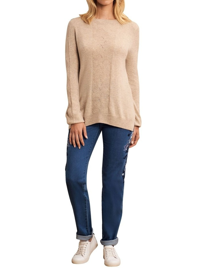Wool Cashmere Cable Knit image 3