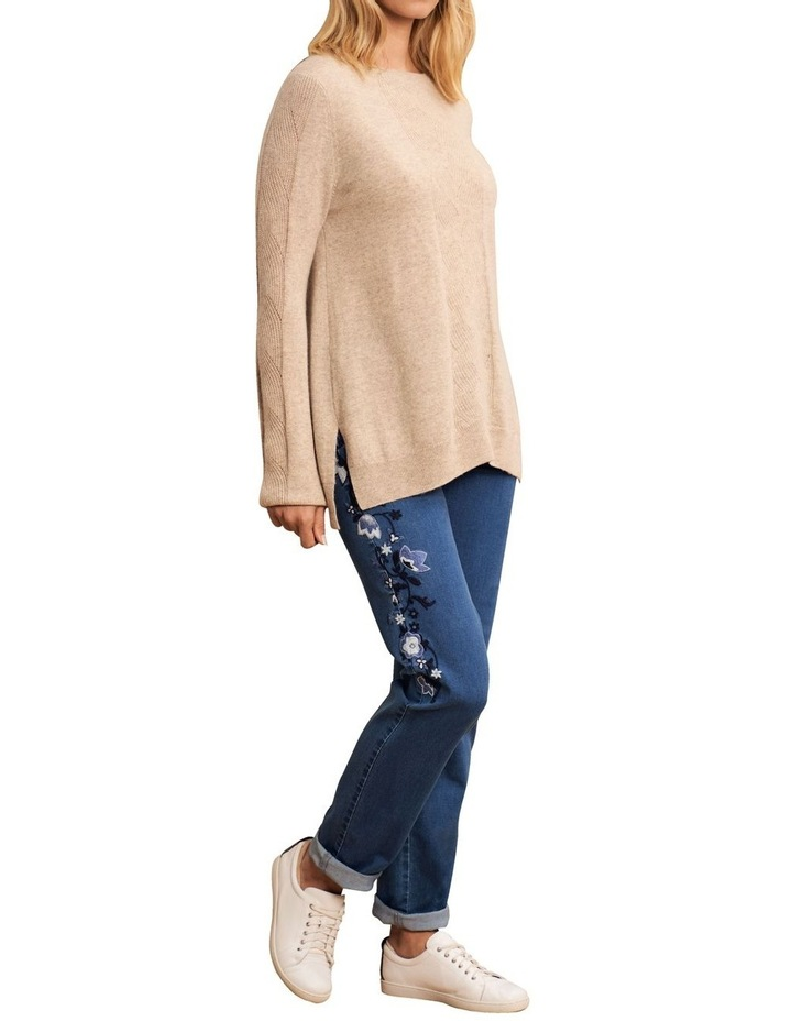 Wool Cashmere Cable Knit image 4