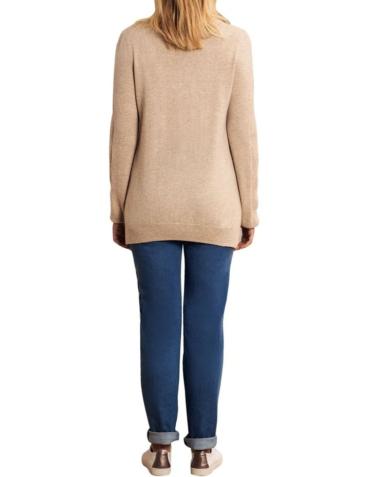 Wool Cashmere Cable Knit image 5