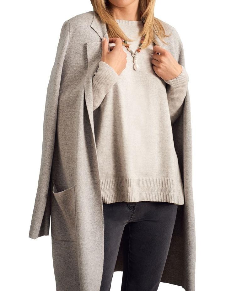 Wool Blend Coatigan image 2