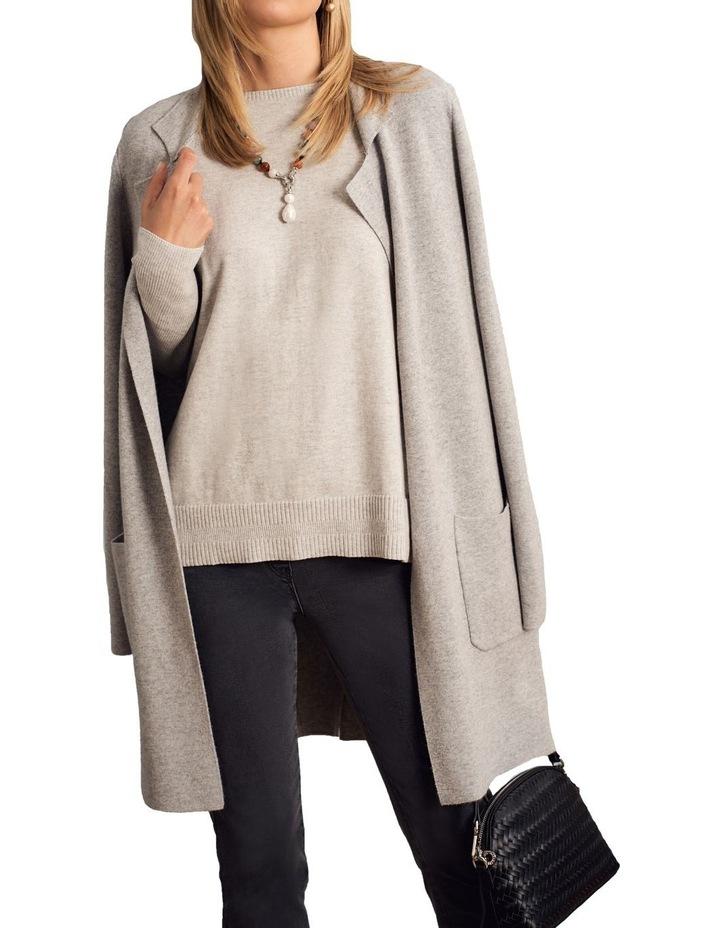Wool Blend Coatigan image 4