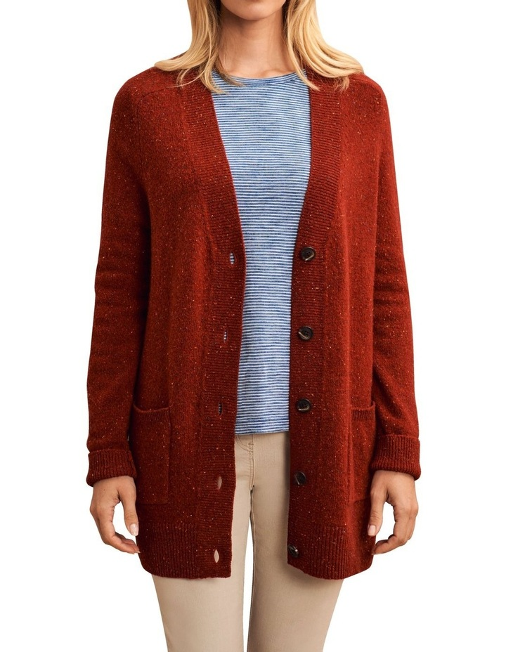 Wool Speckled Cardigan image 1