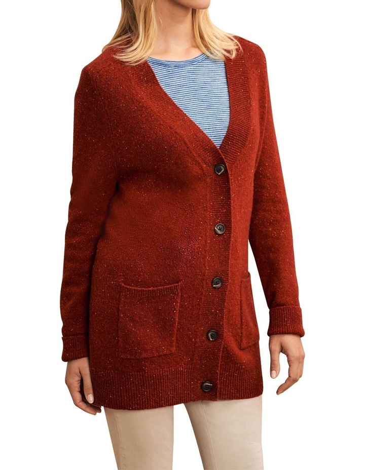 Wool Speckled Cardigan image 3