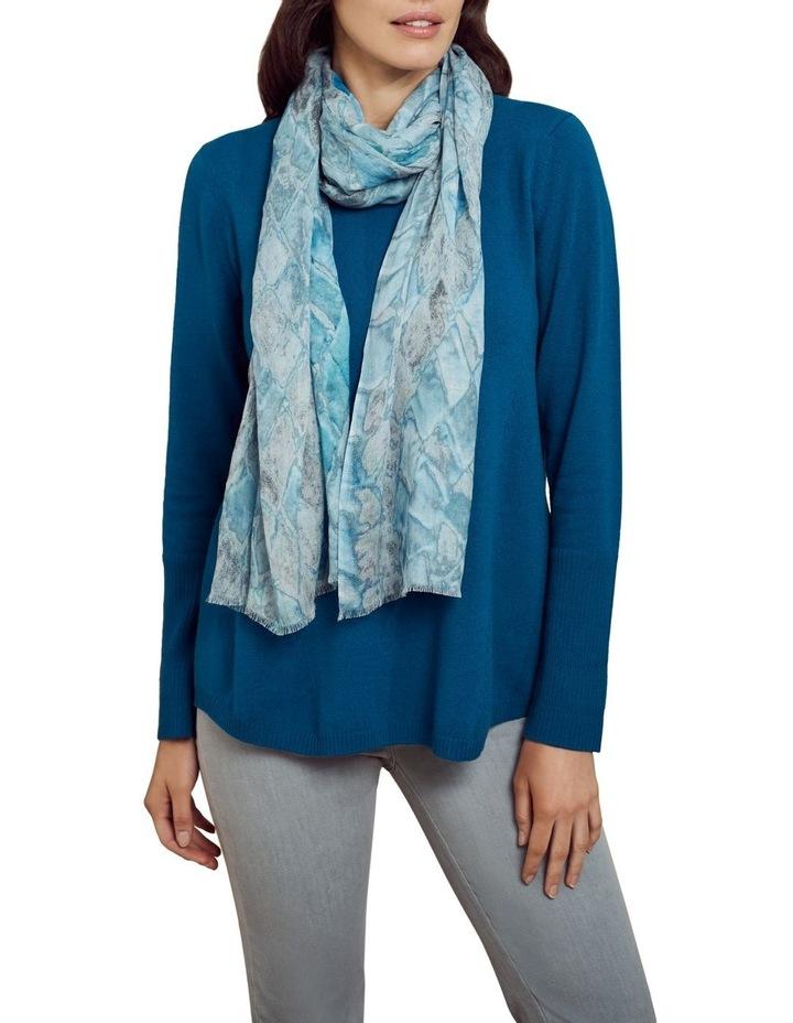 Merino Wool Knit Jumper Lapis Blue image 5