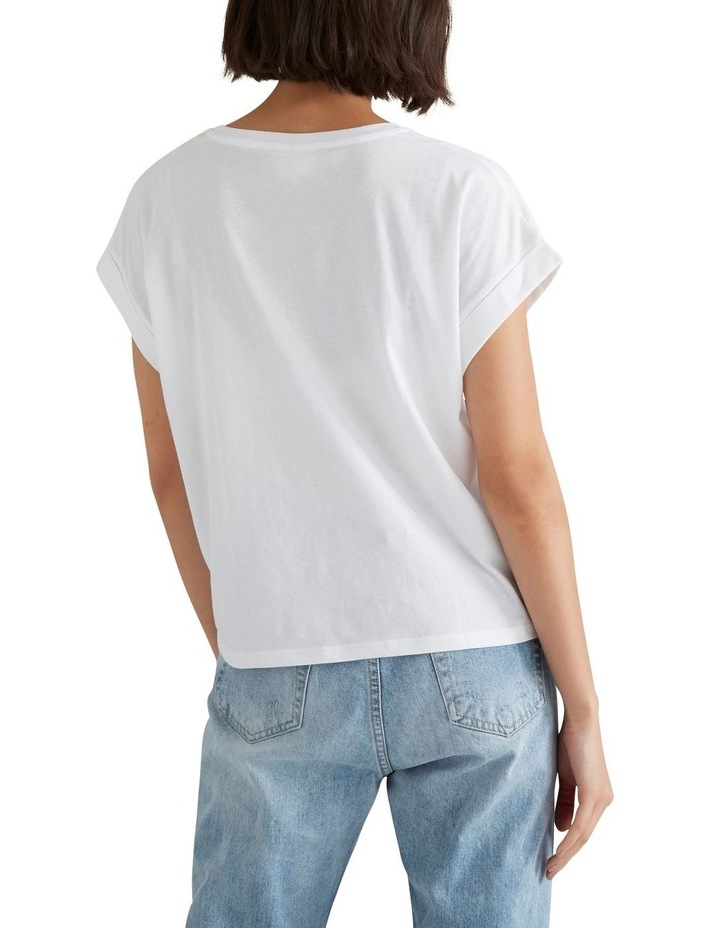 Core Rolled Cuff Tee image 3