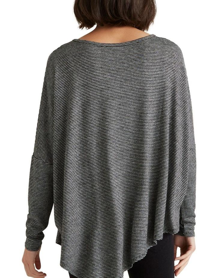 Asymmetrical Stripe Sweater image 3