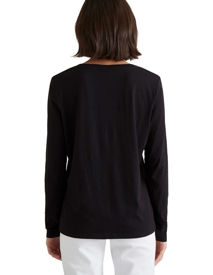 Classic Long Sleeve Top image 3