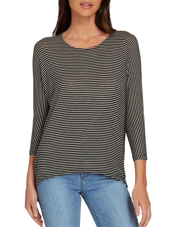 Slouchy 3/4 Sleeve Top image 1
