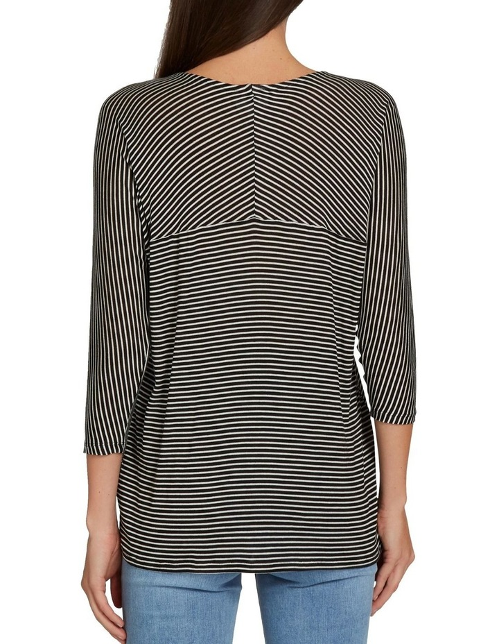 Slouchy 3/4 Sleeve Top image 3
