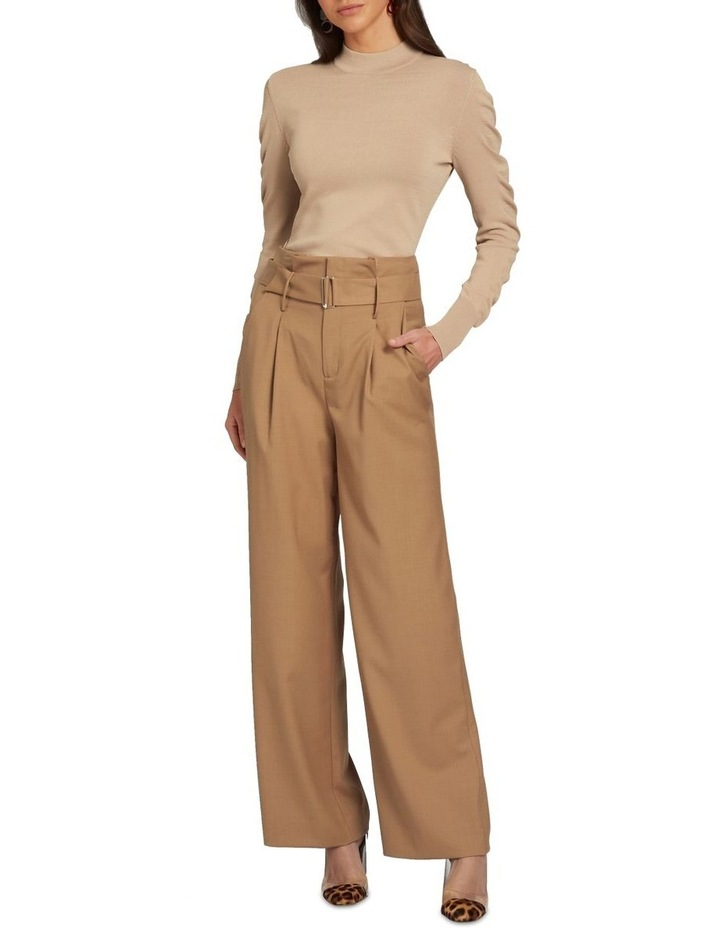 Crepe Roll Neck Knit image 2