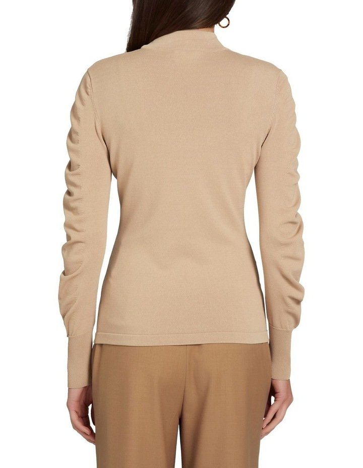Crepe Roll Neck Knit image 3