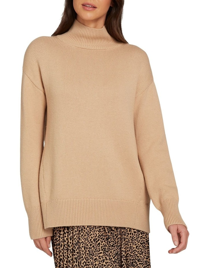 Easy High Neck Sweater image 1