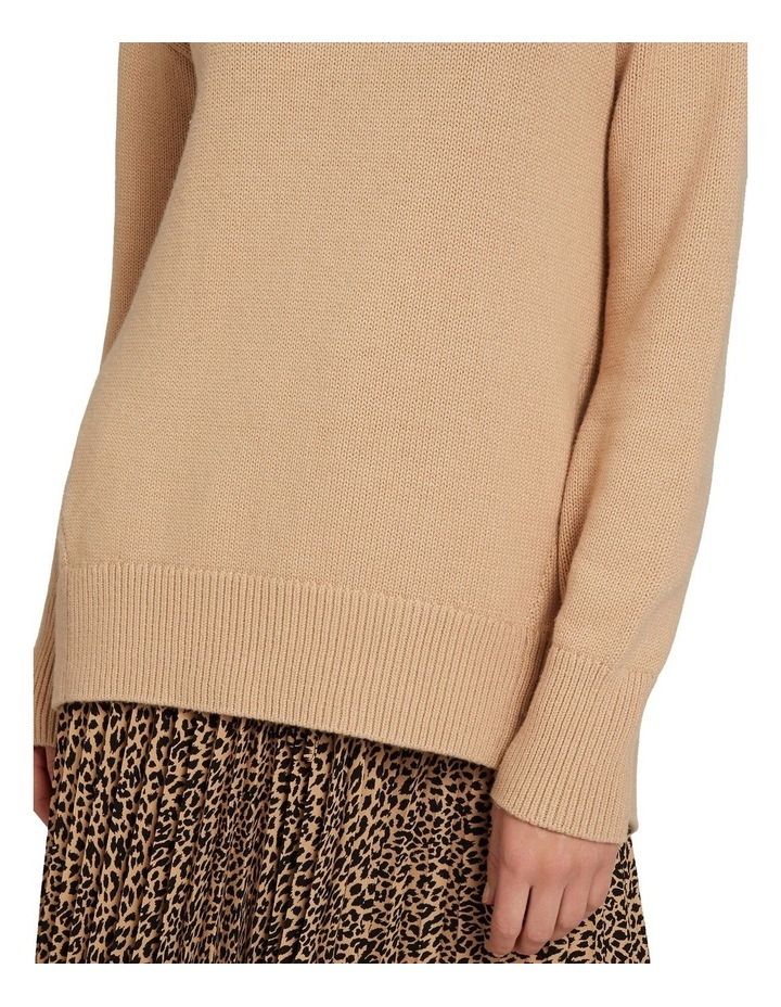 Easy High Neck Sweater image 4
