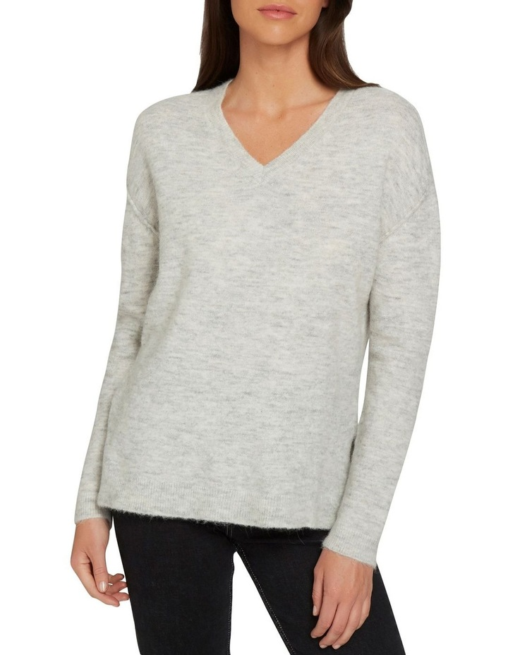 V Neck Plush Sweater image 1